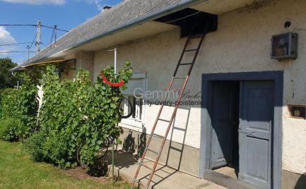 GEMINIBROKER Vám ponúka na predaj rodinný dom gazdovského typu vo výbornom stave v obci Hejce