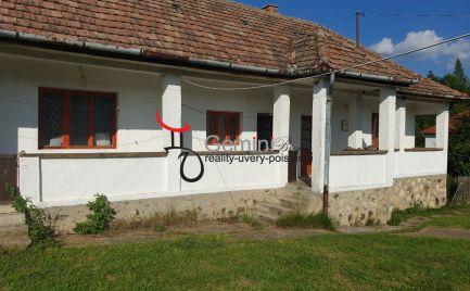 GEMINIBROKER ponúka na predaj gazdovský rodinný dom v obci Regéc