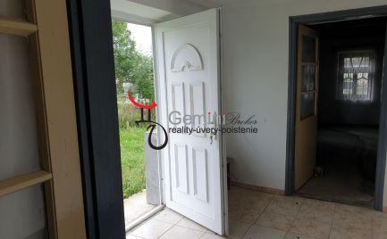 GEMINIBROKER ponúka na predaj rodinný dom v obci Vilyvitány