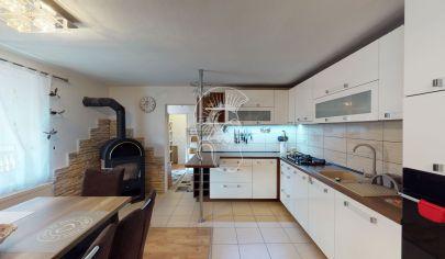 Príjemný 3- izbový rodinný dom v obci Svinica