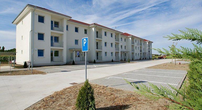 2-izbové nové byty s parkoviskom, 8 km od Galanty (Mostová)