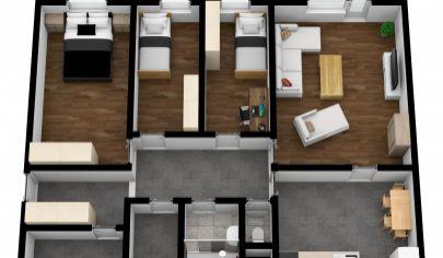 Na predaj priestranný, dispozične zaujímavo riešený 4 izb. byt vo vyhľadávanej lokalite Jégeho ul., BA – Ružinov