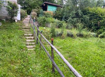 Záhrada s chatkami v Bardejove