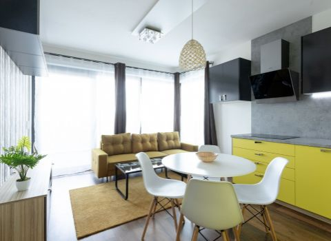 PRENAJATÝ - na prenájom úplne nový 2 izbový dizajnový byt na Tehelnom poli