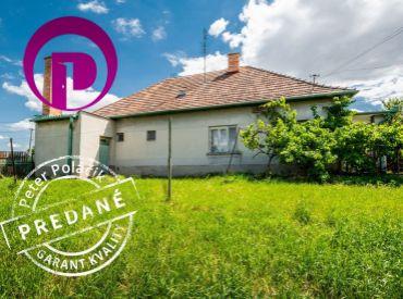 PREDANÉ: 3i RD prízemný , 103 m2 – Veľké Dvorníky: vymeňte bývanie v byte za bývanie v dome