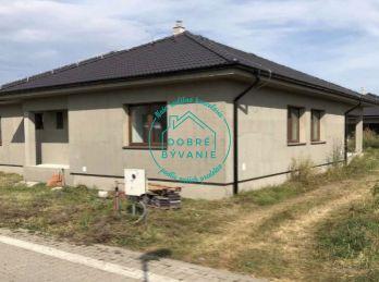 Na predaj novostavba rodinného domu v tichej lokalite mesta Nové Zámky