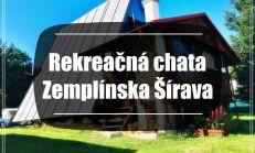 Klimatizovaná rekreačná chata s parkovaním, Zemplínska Šírava