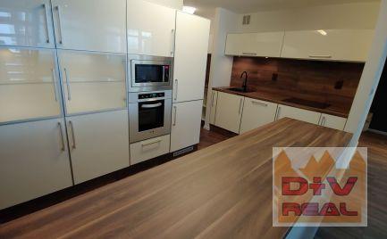 3 izbový byt, Zadunajská cesta, novostavba, zariadený, parkovanie, klimatizácia, terasa na prenájom