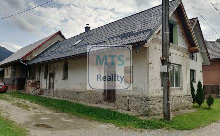 Ponúkame na predaj dom 76m2 na podnikateľské účely aj na bývanie v obci Hubová