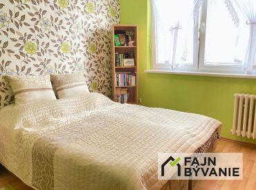 Na predaj príjemný,výborne dispozične riešený 3 izbový byt na Estónskej ul. v BA II.