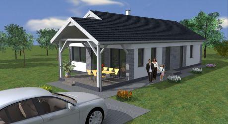 4 - izbový rodinný dom 80 m2, pozemok 331 m2, centrum obce  - Rajka