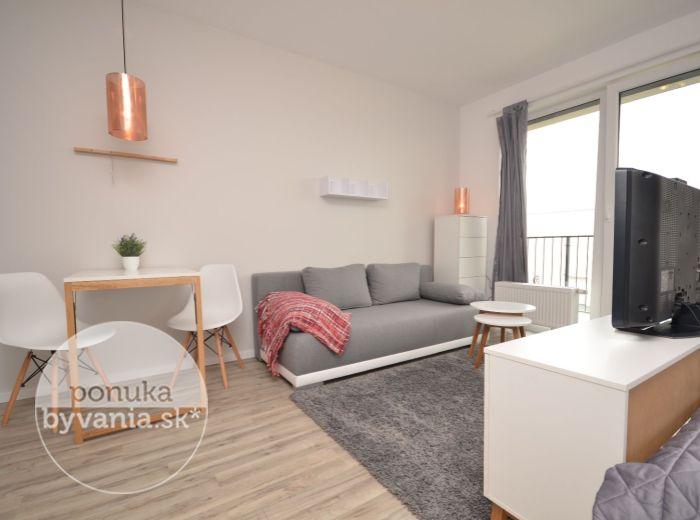 PRENAJATÉ - SLNEČNICE,1-i byt, 40 m2 – NOVUČIČKÝ BYT s kompletnou občianskou vybavenosťou v NOVOSTAVBE