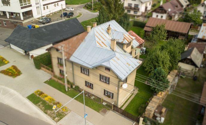 PREDAJ: Rodinný dom (187m2) v centre Čierneho Balogu
