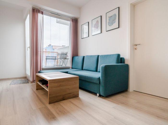 VIETNAMSKÁ, 2-i byt, 39 m2 - TEHLA, výborné dopravné napojenie, NOVOSTAVBA, Avion a Ikea 5 min. pešo
