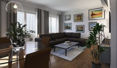 Úplne nový dvojizbový byt v centre, Holíč