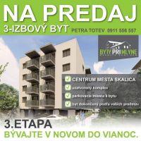 3 izbový byt, Skalica, 1 m², Novostavba