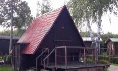 SKVELÁ CENA - Drevená chata s terasou, Zemplínska Šírava