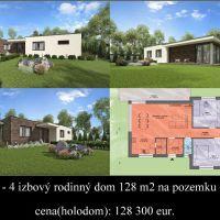 Rodinný dom, Horná Potôň, 103 m², Novostavba