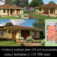 Rodinný dom, Horná Potôň, 116 m², Novostavba