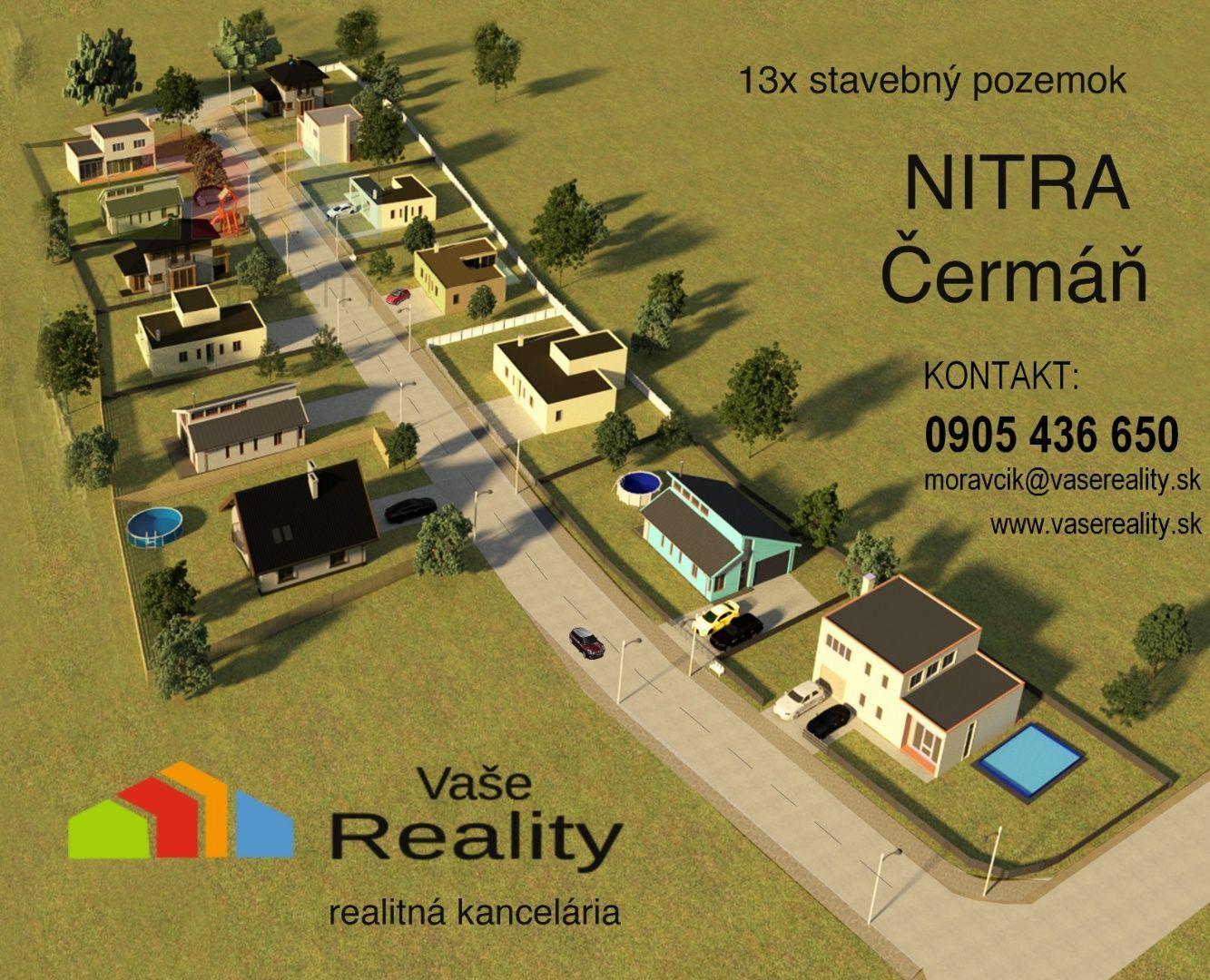 Pozemok pre RD-Predaj-Nitra-91957.00 €