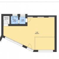 Kancelárie, Zvolen, 53.05 m², Kompletná rekonštrukcia