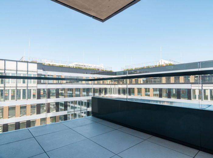 EINPARK, 3-i byt, 81 m2 - nízkoenergetická stavba, NOVÝ A NEOBÝVANÝ, orientovaný do vnútrobloku