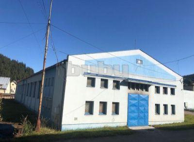 Prenájom haly-výrobné a skladové priestory 500 m2, Kysuce