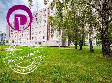 PRENAJATÉ - 3i byt, 72 m2 – BA V: ÚPLNE ČERSTVO ZREKONŠTRUOVANÝ, PRIESTRANNÝ s pekným výhľadom