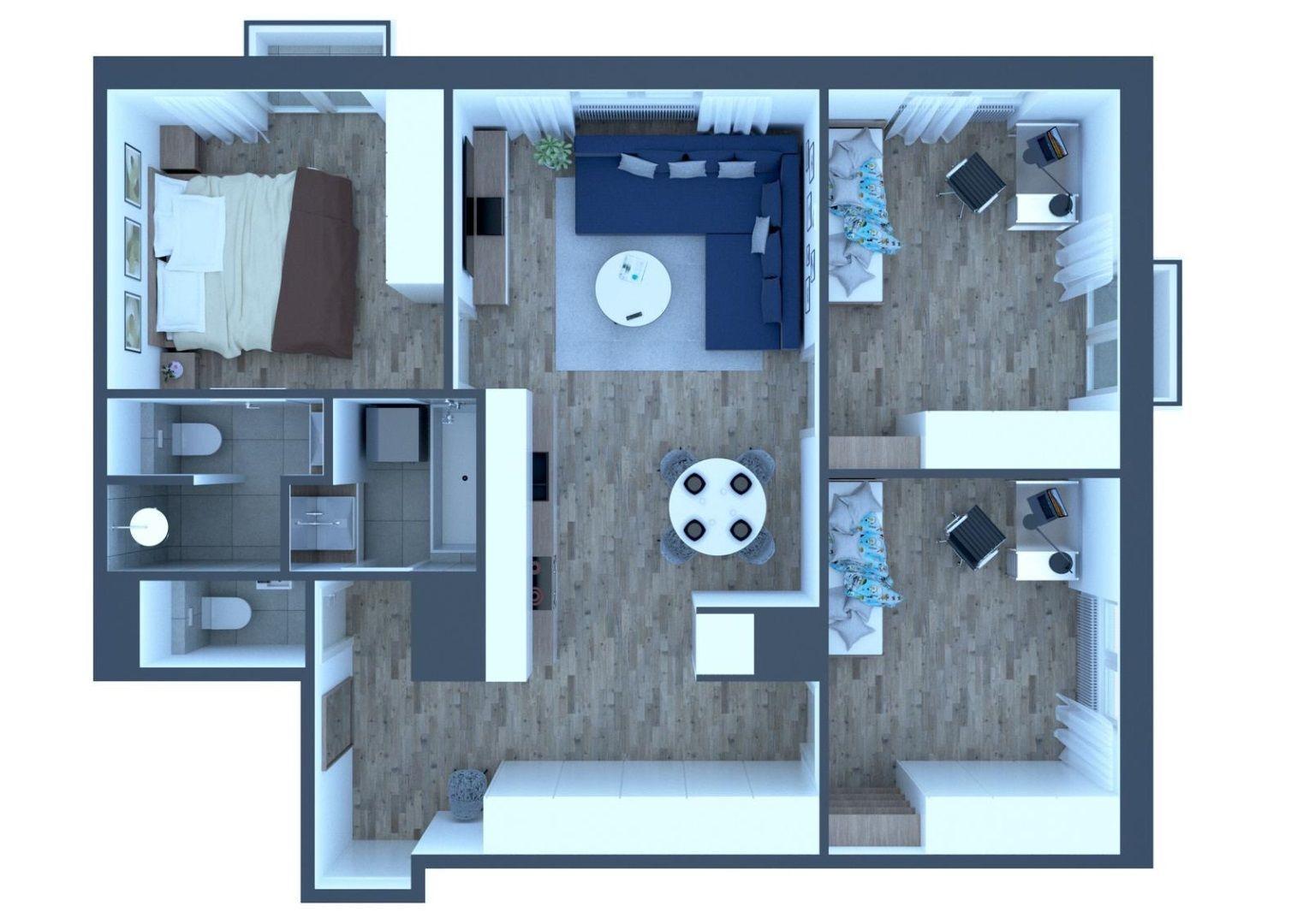 4-izbový byt-Predaj-Bratislava - mestská časť Staré Mesto-316000.00 €