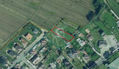 Záhrada v Strážkach s možnosťou výstavby RD - predaj