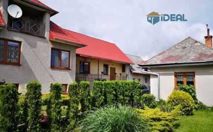 Romantické bývanie na dedine - RD- kváder, tehla...nové okná, nová strecha - obec Lučina, pozemok 3350m2