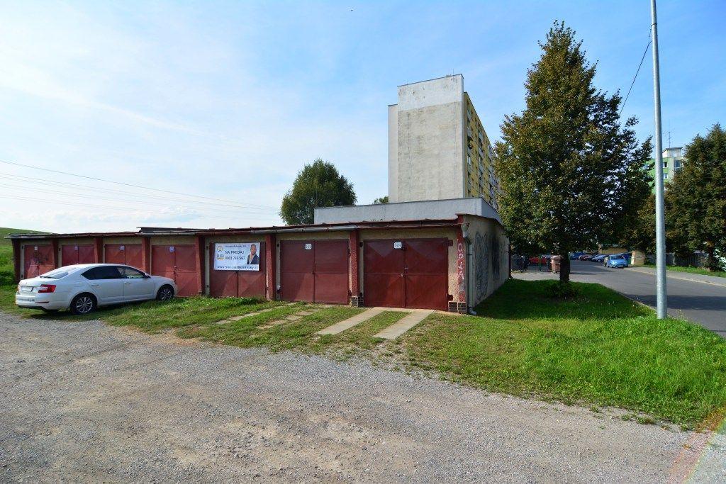 PREDANÉ garáž Spišská Nová Ves, sídlisko Mier - 3