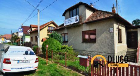 Na predaj rodinný dom Hrabušice, ulica Hlavná