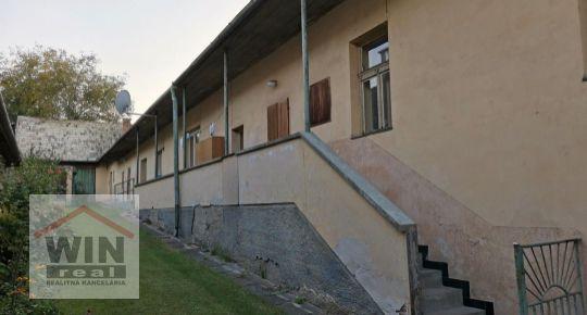Na predaj gazdovský rodinný dom,  Zvolen, časť Môťová