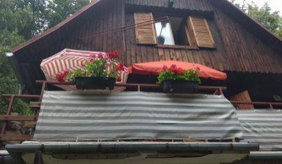 Chata v krásnom prostredí, Cerová časť Sokolské chaty