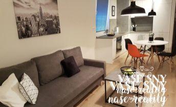 Na prenájom kompletne zariadený 2 izb byt v novostavbe na Zlatovskej ul. v Trenčíne.