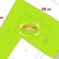 Pre rodinné domy, Banská Bystrica, 571 m²