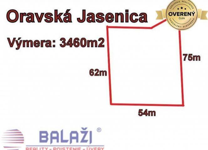poľnohospodárska pôda - Oravská Jasenica - Fotografia 1