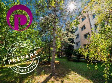 PREDANÉ: 3i byt, 68 m2 – BA - Prievoz: veľa zelene a plná občianska vybavenosť