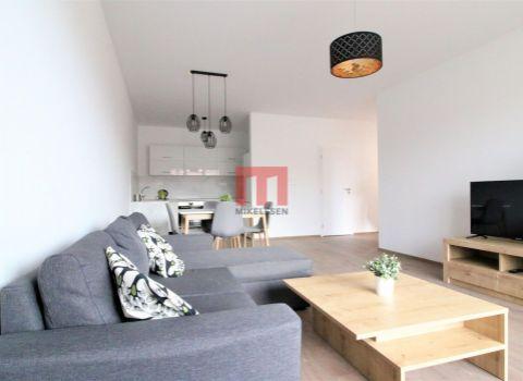 Na prenájom nový 2 izbový byt s balkónom a garážovým státím v novostavbe Galvaniho dvory, v mestkej časti Ružinov-Trnávka