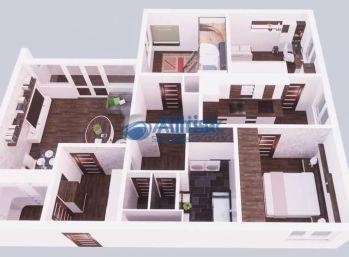 4 izbový byt so šatníkom a plastovými oknami v pôvodnom stave