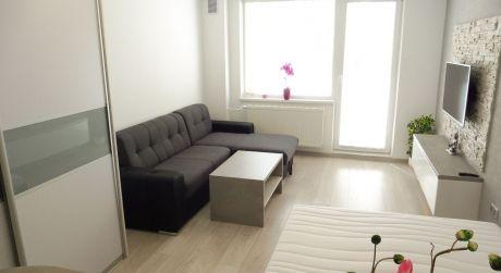 Na prenájom zariadený 1 izbový byt s lodžiou, 30 m2, Trenčín, ul.Západná