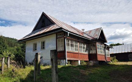 Tradičná drevenica pod Kráľovou Hoľou - Nízke Tatry