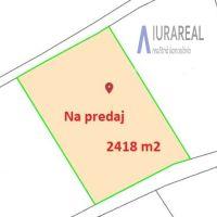 Pre rodinné domy, Horné Srnie, 2418 m²