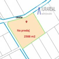 Rekreačný pozemok, Horné Srnie, 2588 m²