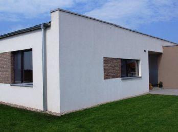 Predaj 4 izb. nízkoenergetický bungalov na kľúč, pozemok 693m2, Dolný Bar