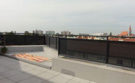 Na prenájom: 2 izbový byt s pekným výhľadom v novostavbe s veľkou terasou a garážovým státím Malacky, Jilemnického ul.!!!