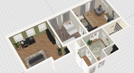 Veľký 3-izbový byt v centre mesta za výbornú cenu