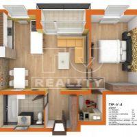 2 izbový byt, Dolný Štál, 61 m², Novostavba