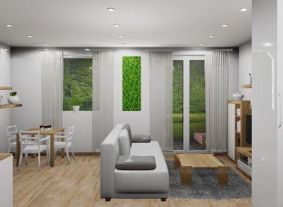 Na predaj 1 izbový byt PodF, v novom projekte